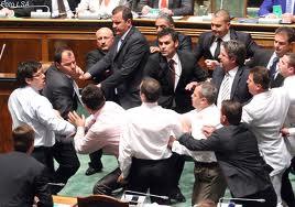 nje dite e zakonshme pune ne parlament